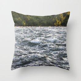 Wavy Throw Pillow