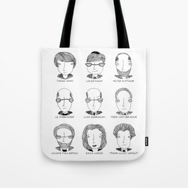 The Architectural Dream Team Tote Bag
