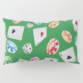#casino #games #accessories #pattern 4 Pillow Sham