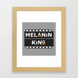 Melanin King Framed Art Print