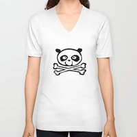 logo V-neck T-shirts featuring Logo by Bouletcorp