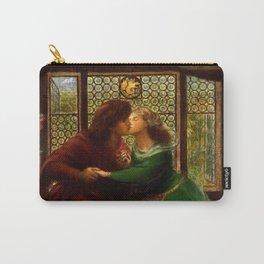 """Dante Gabriel Rossetti """"Paolo and Francesca da Rimini"""" Carry-All Pouch"""