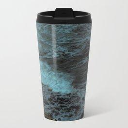 Feel the waves Metal Travel Mug