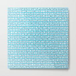 loza (light blue) Metal Print