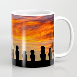 EASTER ISLAND SUNRISE Coffee Mug