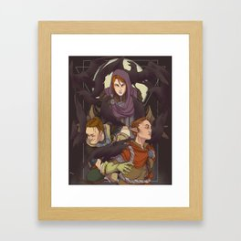 Eyes of the Inquisition Framed Art Print