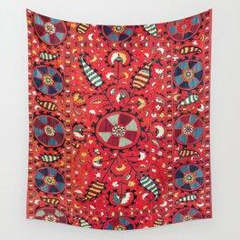 Lakai Suzani Samarkand Uzbekistan Embroidery Print Wall Tapestry
