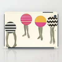 feet iPad Cases featuring Dancing Feet by Cassia Beck