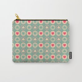 Cookie Love Retro Pattern Carry-All Pouch