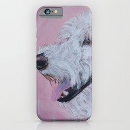 Cream Labradoodle iPhone Case