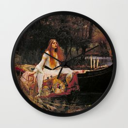 The Lady of Shalott Wall Clock