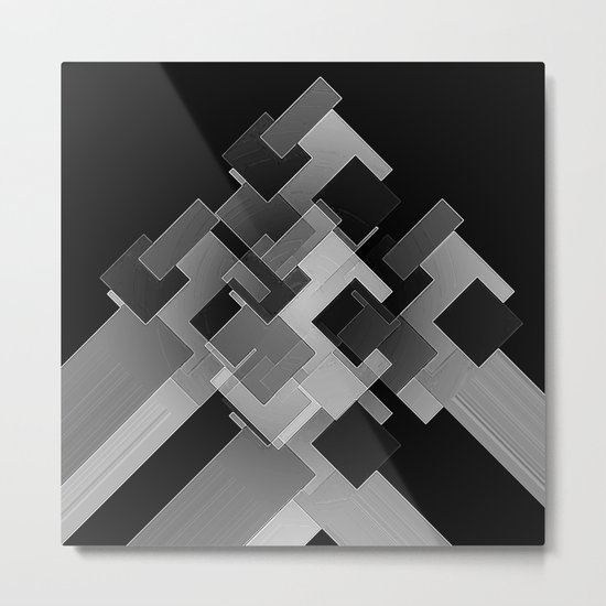 High End Corner Unit Metal Print