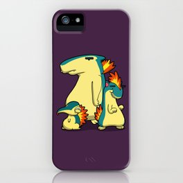 Pokémon - Number 155, 156 & 157 iPhone Case