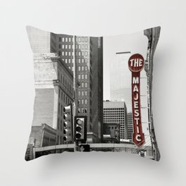 The Majestic City Throw Pillow