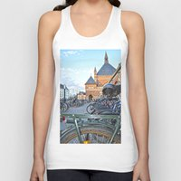 bicycles Tank Tops featuring bicycles by  Agostino Lo Coco