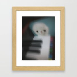 Little Piano Player Framed Art Print