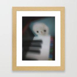 Little Piano Player Framed Art Print