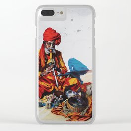 Snake Charmer Clear iPhone Case