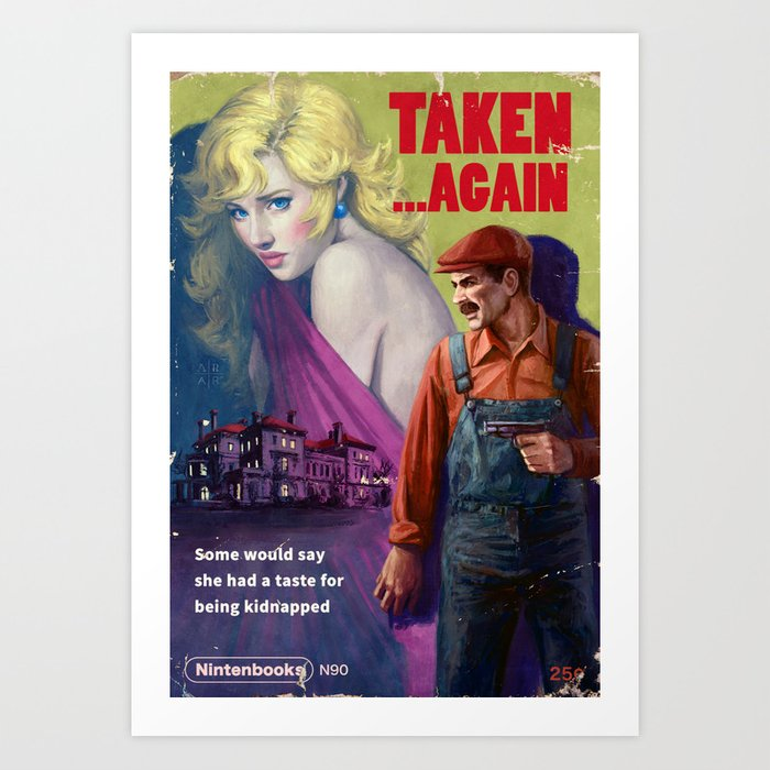 Taken . . . Again Art Print