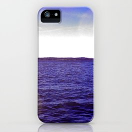 On the Blue Blue Water iPhone Case