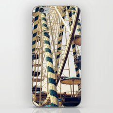 Vintage Ferris Wheel in Marseilles, France iPhone & iPod Skin