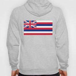 Hawaiian Flag, Official color & scale Hoody