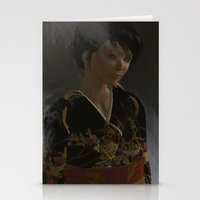 oriental Stationery Cards featuring Oriental by Robert Erskine