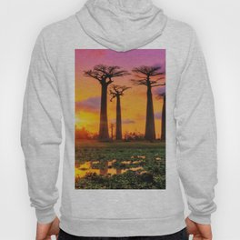 Avenue of the Baobabs, Madagascar Hoody