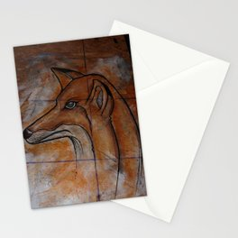 Fox. Stationery Cards