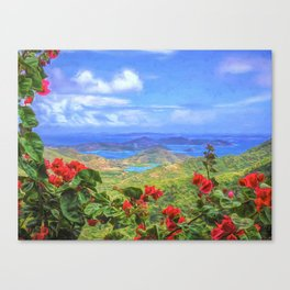 St. John Vista Canvas Print
