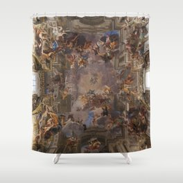 Sant'Ignazio Church, Rome Shower Curtain
