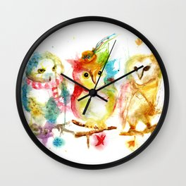 Season Change Wall Clock