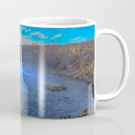 Faxi waterfall. Coffee Mug
