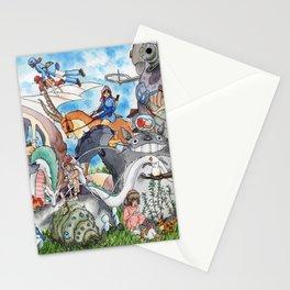 Hayao Miyazaki Tribute Stationery Cards