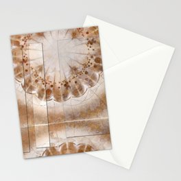 Chowders Weave Flowers  ID:16165-160051-47851 Stationery Cards