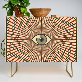 Red eye of providence Credenza