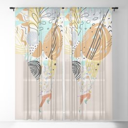 Better With Music Sheer Curtain