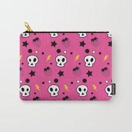 strawberry skulls! Carry-All Pouch