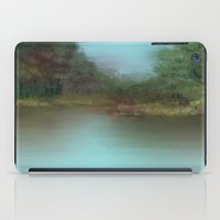 lake iPad Cases featuring Lake by Turul