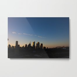 Are You Going to Heaven? Metal Print