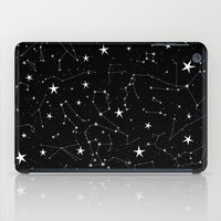 constellations iPad Cases featuring Constellations by Rachel Buske