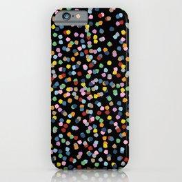 Blossom Petals II Black iPhone Case