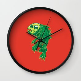 Creature From Some Lagoon Wall Clock