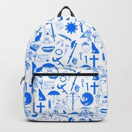 Buffy Symbology, Blue Backpack