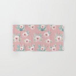 Echeveria Garden Roses Coral Rose Pink Hand & Bath Towel