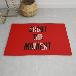 SHOOT THE MOMENT Rug