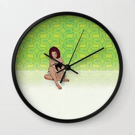 Nude Dimensions Nº3 Wall Clock