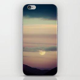 Montana Sunset iPhone Skin