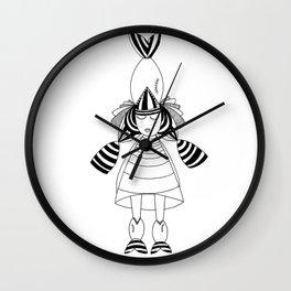 Big Fish Little Fish Wall Clock