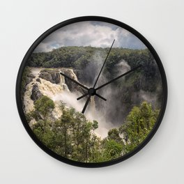 Barron Falls in Queensland Wall Clock